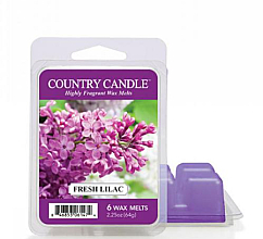 Düfte, Parfümerie und Kosmetik Tart-Duftwachs Fresh Lilac - Country Candle Fresh Lilac Wax Melts