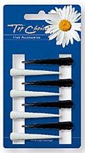 Düfte, Parfümerie und Kosmetik Haarspangen schwarz und weiß 8 St. - Top Choice
