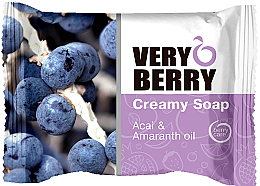 Düfte, Parfümerie und Kosmetik Cremeseife mit Acai-Berry und Amaranthöl - Very Berry Acai & Amaranth Oil