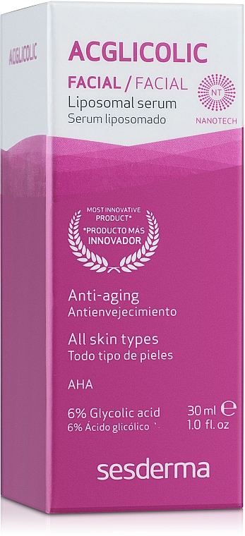 Anti-Aging Gesichtsserum mit Liposomen - SesDerma Laboratories Acglicolic Liposomal Serum — Bild N1