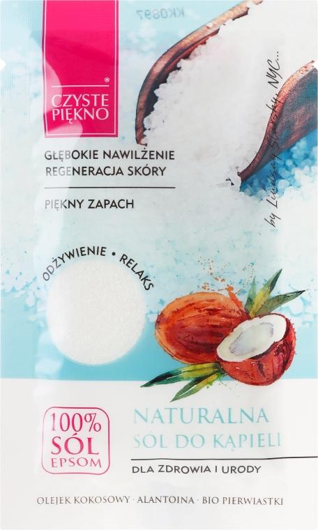 Natürliches Badesalz mit Kokosöl - Czyste Piekno