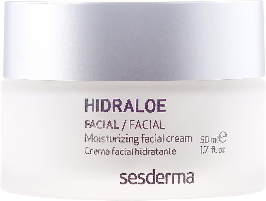 Feuchtigkeitsspendende Gesichtscreme - SesDerma Laboratories Hidraloe Moisturizing Face Cream — Bild N2