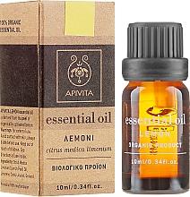 Ätherisches Öl Zitrone - Apivita Aromatherapy Organic Lemon Oil — Bild N1
