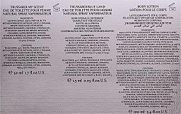 Trussardi My Scent - Duftset (Eau de Toilette 50 ml + Körperlotion 100 ml + Kosmetiktasche) — Bild N4