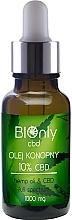 Düfte, Parfümerie und Kosmetik Hanfsamenöl mit 10% Cannabidiol - BIOnly