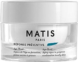 Düfte, Parfümerie und Kosmetik Feuchtigkeitsspendende und schützende Anti-Aging Gesichtscreme für fettige und Mischhaut - Matis Reponse Preventive Age-Mood