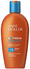 Düfte, Parfümerie und Kosmetik Sonnenschutzmilch SPF 15 - Anne Moller Express Sunscreen Body Milk SPF15