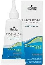 Düfte, Parfümerie und Kosmetik Professionelles Stylinggel für lockiges Haar - Schwarzkopf Professional Natural Styling Creative Gel №1