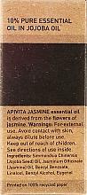 Ätherisches Öl Jasmin - Apivita Aromatherapy Organic Jasmine Oil — Bild N3