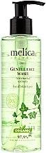 Düfte, Parfümerie und Kosmetik Melica Organic Gentle Face Wash - Sanftes Gesichtswaschgel mit Pflanzenextrakten