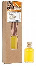 Düfte, Parfümerie und Kosmetik Raumdiffusor mit Duftholzstäbchen Zimt und Orange - Flor De Mayo Mikado