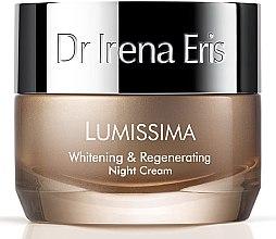 Düfte, Parfümerie und Kosmetik Aufhellende und regenerierende Nachtcreme - Dr. Irena Eris Lumissima Whitening & Regenerating Night Cream