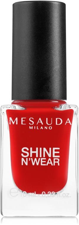 Nagellack - Mesauda Milano Shine N`Wear Nail Polish