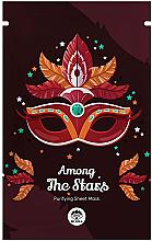 Düfte, Parfümerie und Kosmetik Reinigende und schützende Tuchmaske für das Gesicht mit Kakaoextrakt - Dr Mola Among The Stars Purifying Mask