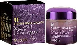 Düfte, Parfümerie und Kosmetik Glättende Liftingcreme für das Gesicht mit Kollagen und Adenosin - Mizon Collagen Power Lifting Cream