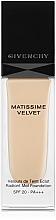 Düfte, Parfümerie und Kosmetik Flüssige Foundation LSF 20 - Givenchy Matissime Velvet Liquid Foundation SPF 20
