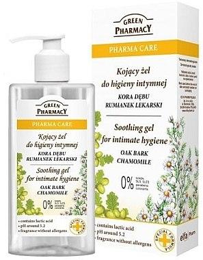 Beruhigendes Gel zur Intimhygiene mit Kamille - Green Pharmacy Soothing Gel