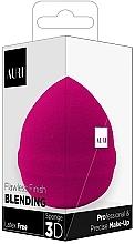 Düfte, Parfümerie und Kosmetik Make-up Schwamm rosa - Auri Flawless Finish Blending Sponge 3D