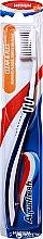 Düfte, Parfümerie und Kosmetik Zahnbürste mittel Clean & Flex dunkelblau-weiß - Aquafresh Clean & Flex Medium