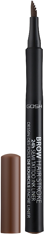 Augenbrauenstift - Gosh Brow Hair Stroke 24H Semi Tatoo Brow Liner