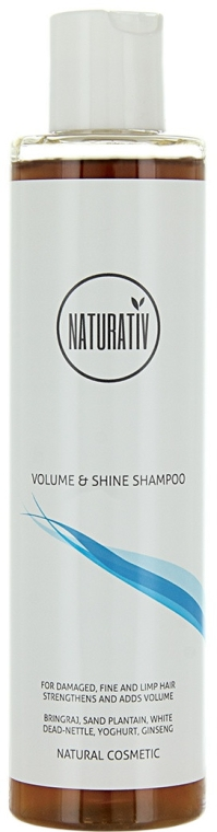 Volumen-Shampoo für sanfte und müde Haare - Naturativ Volume & Shine Shampoo — Bild N1