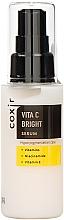 Düfte, Parfümerie und Kosmetik Aufhellendes Gesichtsserum gegen Hyperpigmentation mit Vitaminen, Niacinamid und Vitamin E - Coxir Vita C Bright Serum