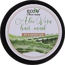 Düfte, Parfümerie und Kosmetik Haarmaske mit Aloe Vera für trockenes und strapaziertes Haar - Eco U Aloe Mask
