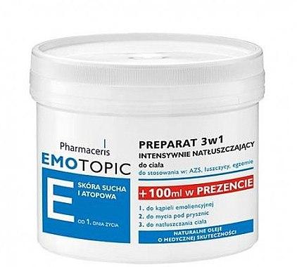 3in1 Rückfettende Formel für den Körper - Pharmaceris E Lipid-Replenishing Formula 3in1