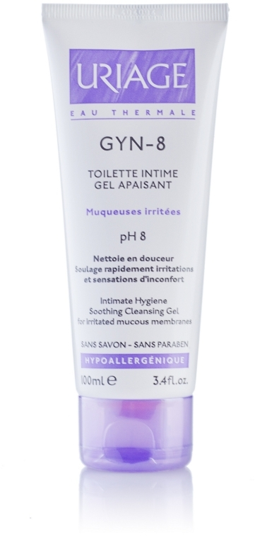 Gel für die Intimhygiene - Uriage GYN-8 Toilette Intime Gel Apaisant