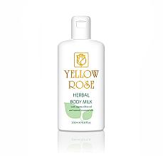Düfte, Parfümerie und Kosmetik Mleczko do ciała - Yellow Rose Herbal Body Milk