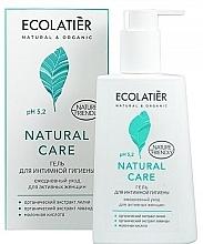 Düfte, Parfümerie und Kosmetik Gel für die Intimhygiene für den täglichen Gebrauch - Ecolatier Natural Care