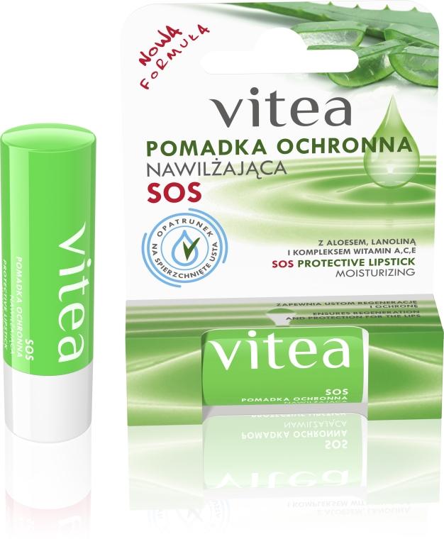 Feuchtigkeitsspendender und schützender Lippenbalsam mit Aloe Vera und Wollwachs - Vitea SOS Lipbalm