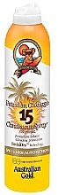 Düfte, Parfümerie und Kosmetik Sonnenschutzspray für den Körper SPF 15 - Australian Gold Premium Coverage Spf15