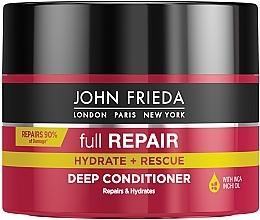 Düfte, Parfümerie und Kosmetik Stärkender Conditioner mit regenerierender Wirkung - John Frieda Full Repair Deep Conditioner