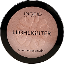 Düfte, Parfümerie und Kosmetik Schimmernder Kompaktpuder - Ingrid Cosmetics HD Beauty Innovation Shimmer Powder