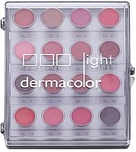 Düfte, Parfümerie und Kosmetik Lippenstift-Palette 16 Farben - Kryolan Dermacolor Light Lipstick Palette