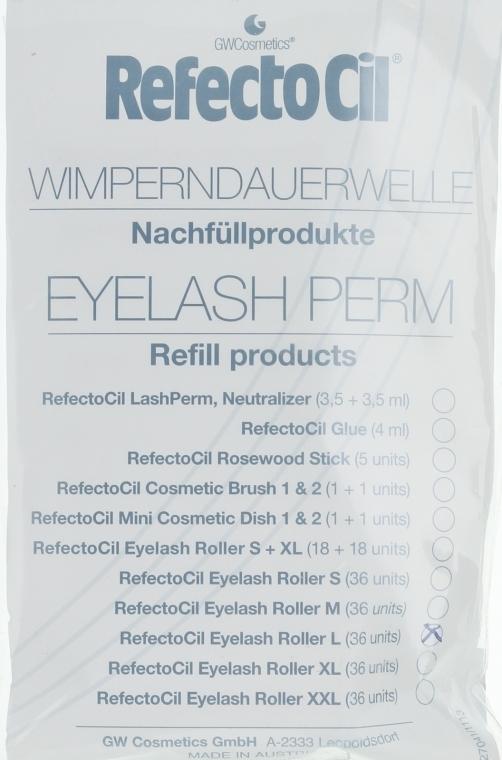 Rollen für Wimperndauerwelle L - RefectoCil Eyelash Perm — Bild N1