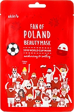 Düfte, Parfümerie und Kosmetik Feuchtigkeitsspendende und beruhigende Tuchmaske für das Gesicht - Skin79 Fan Of Poland Beauty Mask
