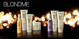 Farbschützendes Shampoo für warme Blondtöne - Schwarzkopf Blondme Color Enhancing Rich Caramel Warm Blond Shampoo — Bild N2