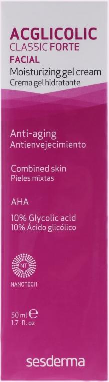 Anti-Aging Creme Gel für Mischhaut - SesDerma Laboratories Acglicolic Classic Forte Moisturizing Gel Cream — Bild N2