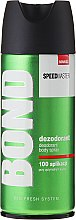 Düfte, Parfümerie und Kosmetik Deodorant - Bond Speedmaster Deo Spray