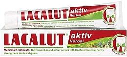 Düfte, Parfümerie und Kosmetik Zahnpasta Aktiv Herbal - Lacalut Aktiv Herbal Toothpaste