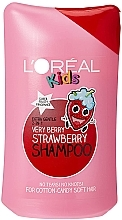 Düfte, Parfümerie und Kosmetik Glättendes Kindershampoo mit Erdbeerduft - L'Oreal Paris Kids Very Berry Strawberry Shampoo