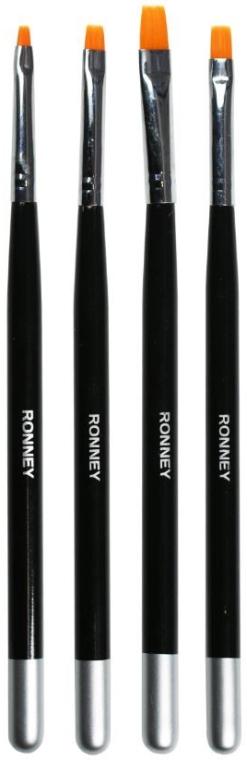 Manikürepinsel-Set RN 00475 4 St. - Ronney Professional