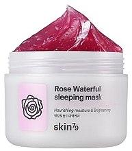 Düfte, Parfümerie und Kosmetik Feuchtigkeitsspendende und aufhellende Gesichtsmaske mit Rosenwasser - Skin79 Rose Waterfull Mask