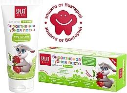 Düfte, Parfümerie und Kosmetik Kinderzahnpasta 2-6 Jahre mit Erdbeer-Kirsche-Geschmack - SPLAT Kids