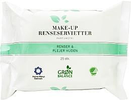 Düfte, Parfümerie und Kosmetik 3in1 Feuchttücher zum Abschminken 25 St. - Gron Balance Make-up Wipes 3in1