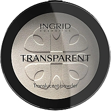 Düfte, Parfümerie und Kosmetik Transparenter Kompaktpuder - Ingrid Cosmetics HD Beauty Innovation Transparent Powder