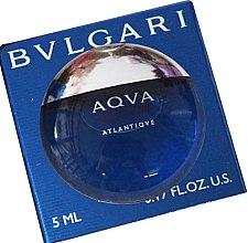 Düfte, Parfümerie und Kosmetik Bvlgari Aqva Pour Homme Atlantiqve - Eau de Toilette (Mini)
