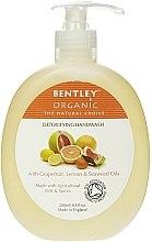 """Düfte, Parfümerie und Kosmetik Flüssige Handseife """"Detox"""" - Bentley Organic Body Care Detoxifying Handwash"""